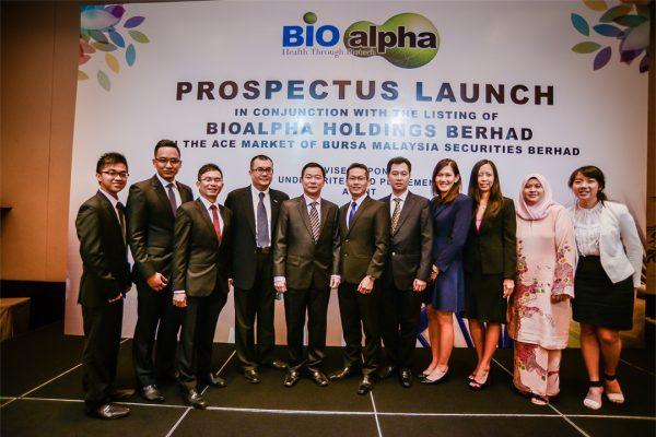 Prospectus Launching copy